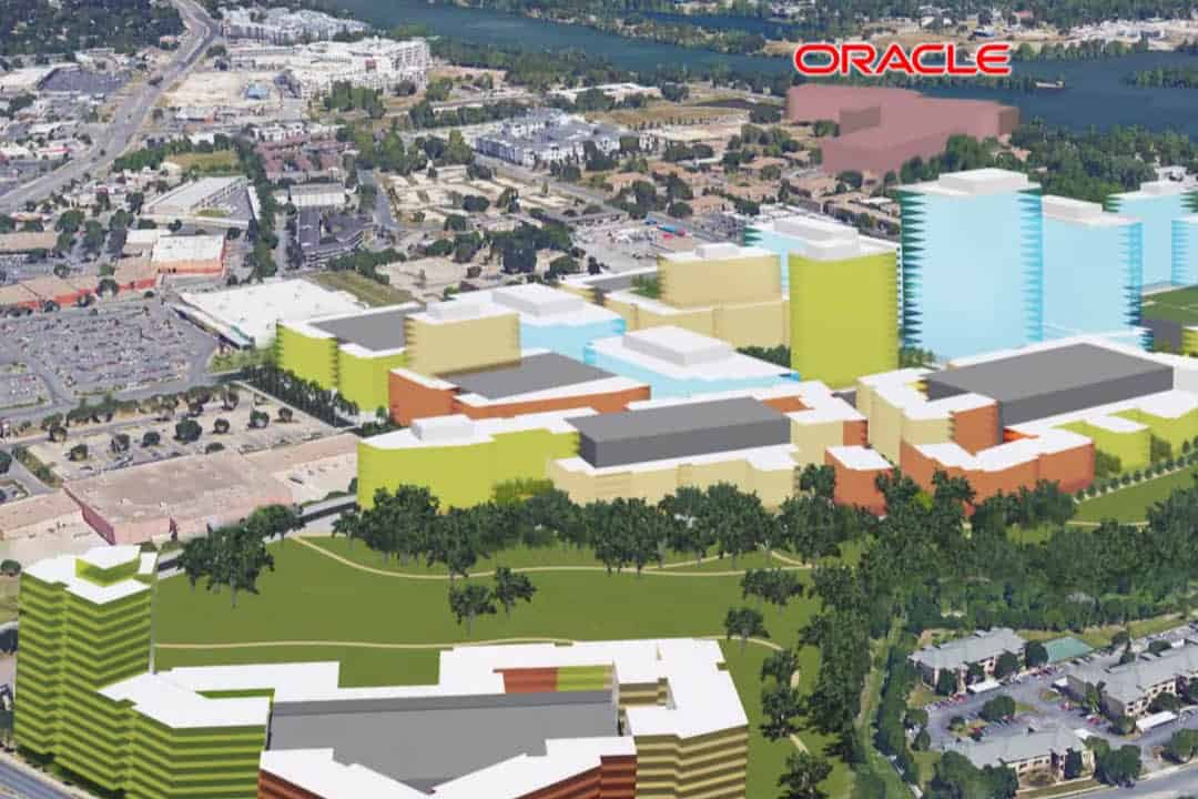 project catalyst oracle new campus austin development